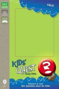 Kids' Quest Study Bible-NIRV