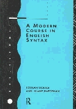 A Modern Course in English Syntax