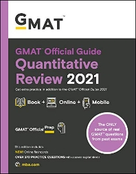 GMAT Official Guide Quantitative Review 2021, Book + Online Question Bank