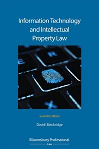 Information Technology and Intellectual Property Law