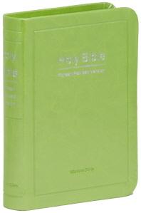 Holy Bible: 성경전서((연두)(42HB)(색인)(미니)(무지퍼)(개역한글판)