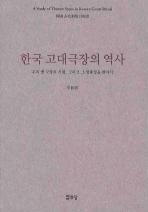한국 고대극장의 역사