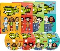 시간여행 삼총사 2집 4종세트 Time Warp Trio(DVD)