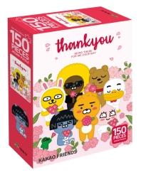 카카오프렌즈 직소 퍼즐 150pcs: 고마워 카카오프렌즈