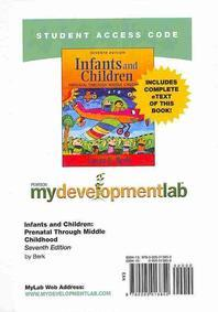 Mydevelopmentlab with Pearson Etext -- Standalone Access Card -- For Infants and Children