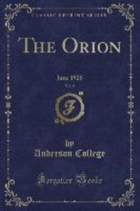 The Orion, Vol. 9