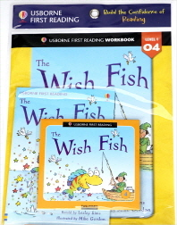 Usborne First Reading Workbook Set 1-4 : The Wish Fish