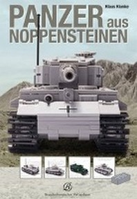 Panzer aus Noppensteinen