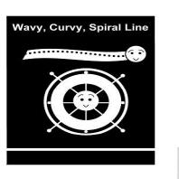 Wavy, Curvy, Spiral Line