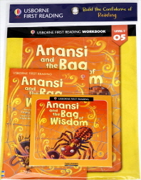 Usborne First Reading Workbook Set 1-5 : Anansi and the Bag of Wisdom