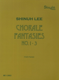 Chorale Fantasies No.1-3 for Piano