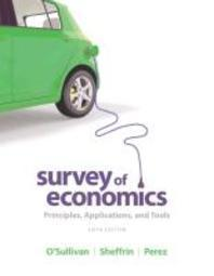 Survey of Economics with MyEconLab with eText Access Code Package