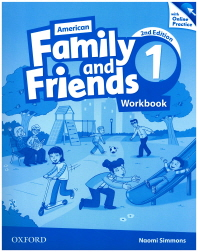 American Family and Friends. 1(Workbook)(with Online Practice Pack)