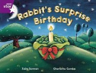 Rigby Star Guided 2 Purple Level: Rabbit's Surprise Birthday Pupil Book (single)
