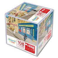 가스파드와 리사 미니 직소 퍼즐 108pcs: 거리에서