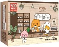 카카오프렌즈 직소 퍼즐 500: 라이언스 카페