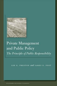 Private Management and Public Policy