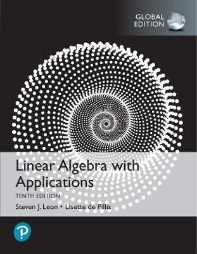 Linear Algebra with Applications (Global edition)