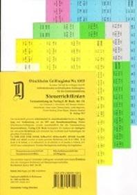 STEUERRICHTLINIEN Duerckheim-Griffregister Nr. 1866 (2018/166.EL)