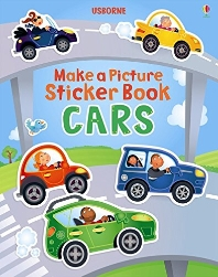 Make a Picture Sticker Book Cars