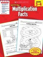 Scholastic Success with Multiplication Facts