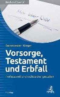 Vorsorge, Testament und Erbfall