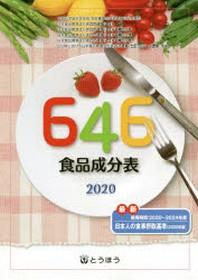 646食品成分表 2020