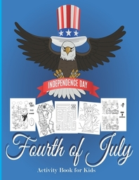 Fourth Of July Activity Book for Kids