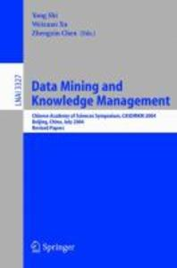 Data Mining and Knowledge Management