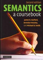 Semantics : a Coursebook