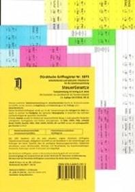 SteuerGesetze Griffregister Nr. 1217 (2018/2019): 224 selbstklebende und farbig bedruckte Griffregister fuer die Steuergesetze, 190.EL
