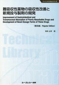 難吸收性藥物の吸收性改善と新規投與製劑の開發 普及版