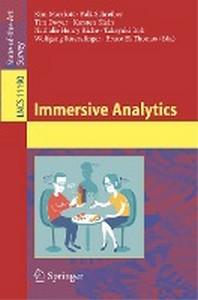 Immersive Analytics