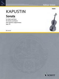 Sonata, Kapustin, Op. 70