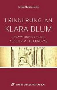 Erinnerung an Klara Blum