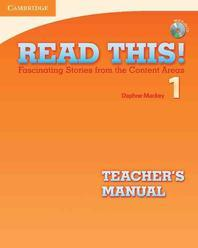 Read This! Level 1 Teacher's Manual with Audio CD