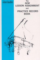 New Lesson Assignment and Practice Record Book