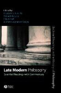 Late Modern Philosophy