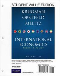 Student Value Edition for International Economics Plus New Myeconlab with Pearson Etext -- Access Card Package (1-Semester Access)