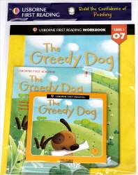 Usborne First Reading Workbook Set 1-7 : The Greedy Dog