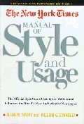 New York Times Manual of Style and Usage