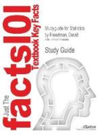 Studyguide for Statistics by Freedman, David, ISBN 9780393929720