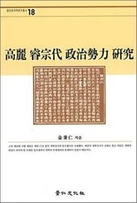 고려 예종대 정치세력 연구