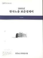 한국노총 표준생계비 2002년