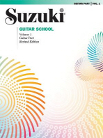 Suzuki Guitar School, Vol 1