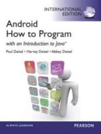 Android How to Program: with an Introduction to Java (Paperback)