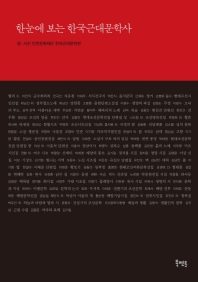 한눈에 보는 한국근대문학사