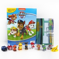 Paw Patrol My Busy Book 퍼피구조대 비지북 피규어책 (포 패트롤)