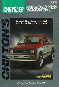 Dodge RAM 50, D50, and Arrow, 1979-93