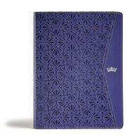 CSB Tony Evans Study Bible, Purple Leathertouch